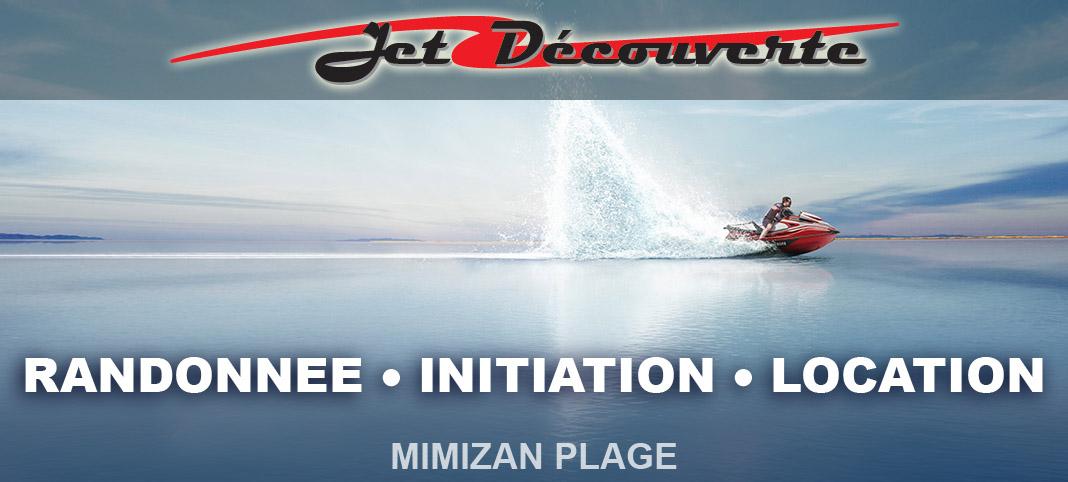 location randonnée et sortie en jetski à Mimizan Plage - Landes